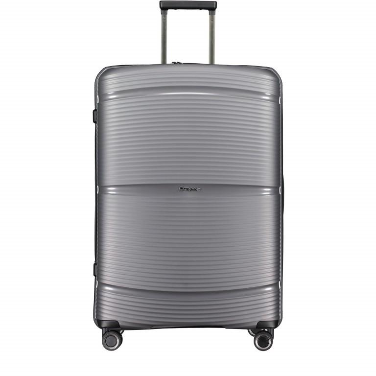 Koffer PP11 75 cm Grey Metallic, Farbe: grau, Marke: Franky, EAN: 4251672738838, Abmessungen in cm: 52.0x75.0x31.0, Bild 1 von 8