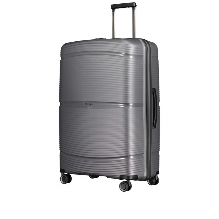 Koffer PP11 75 cm Grey Metallic, Farbe: grau, Marke: Franky, EAN: 4251672738838, Abmessungen in cm: 52.0x75.0x31.0, Bild 2 von 8
