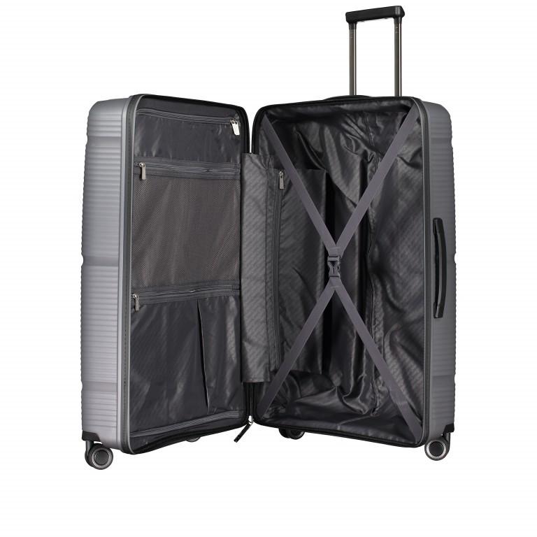 Koffer PP11 75 cm Grey Metallic, Farbe: grau, Marke: Franky, EAN: 4251672738838, Abmessungen in cm: 52.0x75.0x31.0, Bild 7 von 8