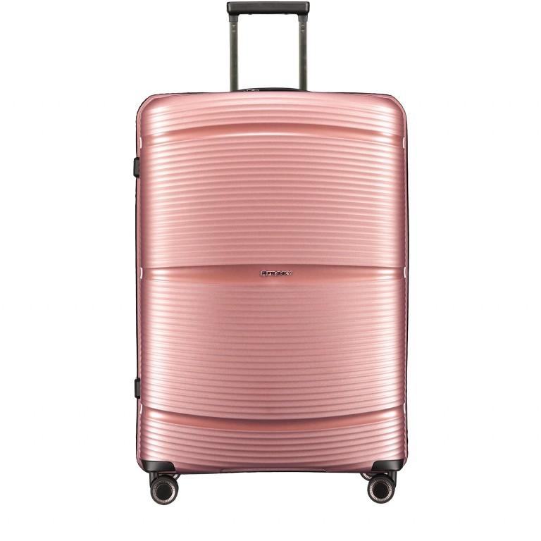 Koffer PP11 75 cm Rose Gold, Farbe: rosa/pink, Marke: Franky, EAN: 4251672747663, Abmessungen in cm: 52.0x75.0x31.0, Bild 1 von 8
