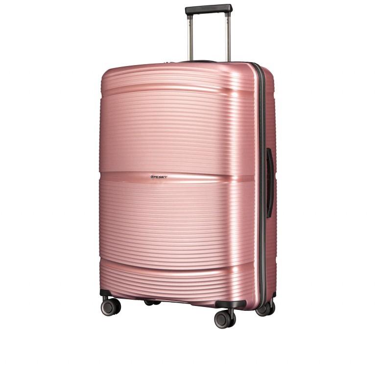 Koffer PP11 75 cm Rose Gold, Farbe: rosa/pink, Marke: Franky, EAN: 4251672747663, Abmessungen in cm: 52.0x75.0x31.0, Bild 2 von 8