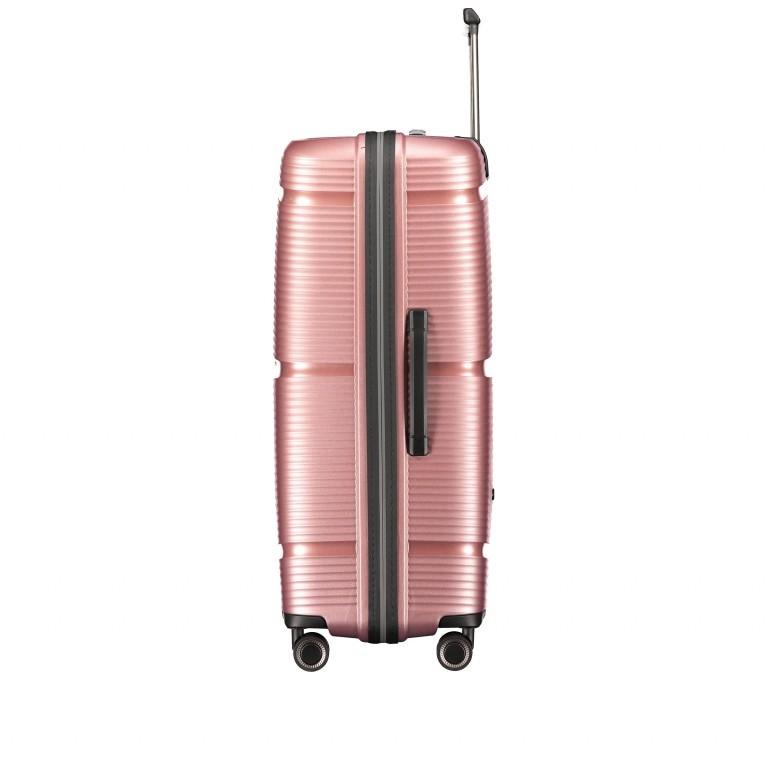 Koffer PP11 75 cm Rose Gold, Farbe: rosa/pink, Marke: Franky, EAN: 4251672747663, Abmessungen in cm: 52.0x75.0x31.0, Bild 3 von 8