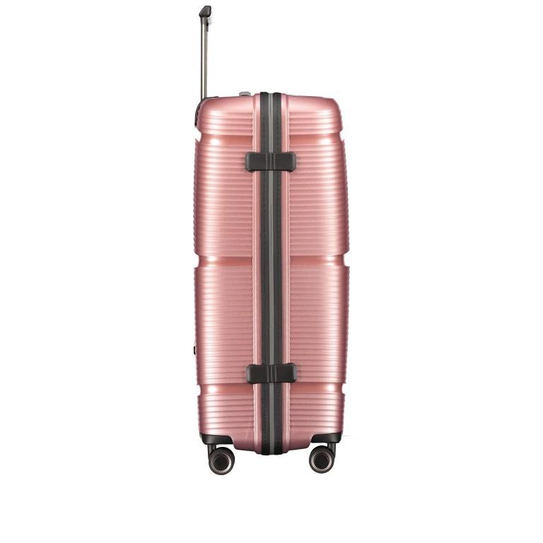 Koffer PP11 75 cm Rose Gold, Farbe: rosa/pink, Marke: Franky, EAN: 4251672747663, Abmessungen in cm: 52.0x75.0x31.0, Bild 4 von 8