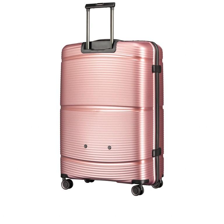 Koffer PP11 75 cm Rose Gold, Farbe: rosa/pink, Marke: Franky, EAN: 4251672747663, Abmessungen in cm: 52.0x75.0x31.0, Bild 6 von 8