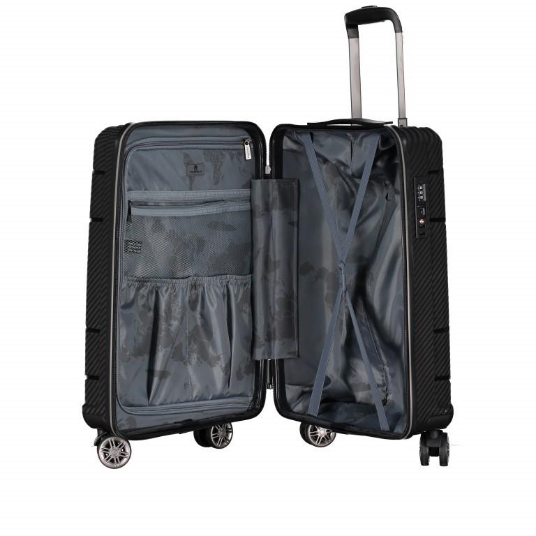 Koffer PP19 55 cm Sky Blue, Farbe: blau/petrol, Marke: Franky, EAN: 4251672746369, Abmessungen in cm: 37.0x55.0x20.0, Bild 8 von 9