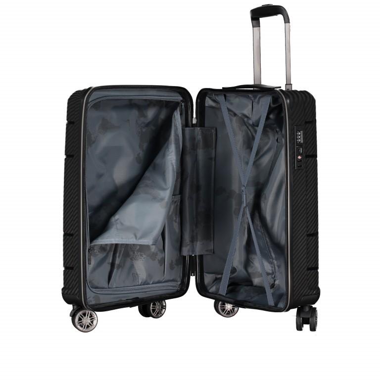 Koffer PP19 55 cm Sky Blue, Farbe: blau/petrol, Marke: Franky, EAN: 4251672746369, Abmessungen in cm: 37.0x55.0x20.0, Bild 9 von 9