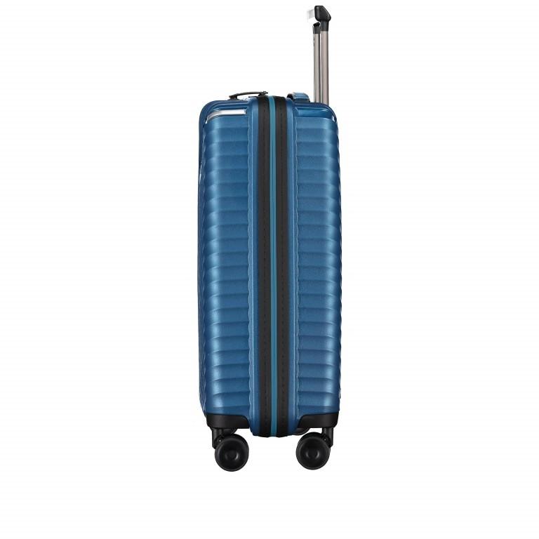Koffer PP13 55 cm Green Metallic, Farbe: blau/petrol, Marke: Franky, EAN: 4251672746147, Abmessungen in cm: 39.0x55.0x21.0, Bild 3 von 10
