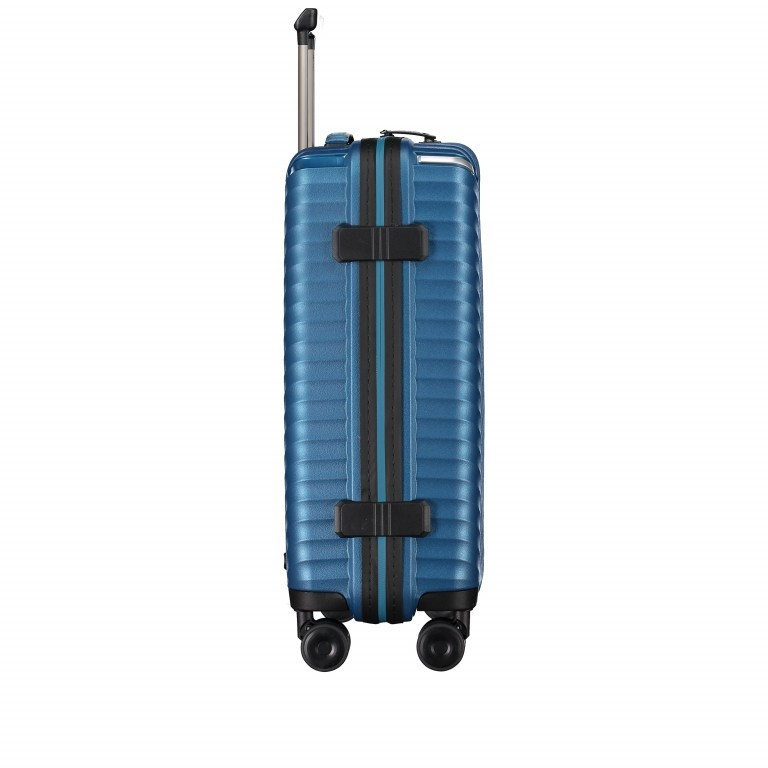 Koffer PP13 55 cm Green Metallic, Farbe: blau/petrol, Marke: Franky, EAN: 4251672746147, Abmessungen in cm: 39.0x55.0x21.0, Bild 4 von 10