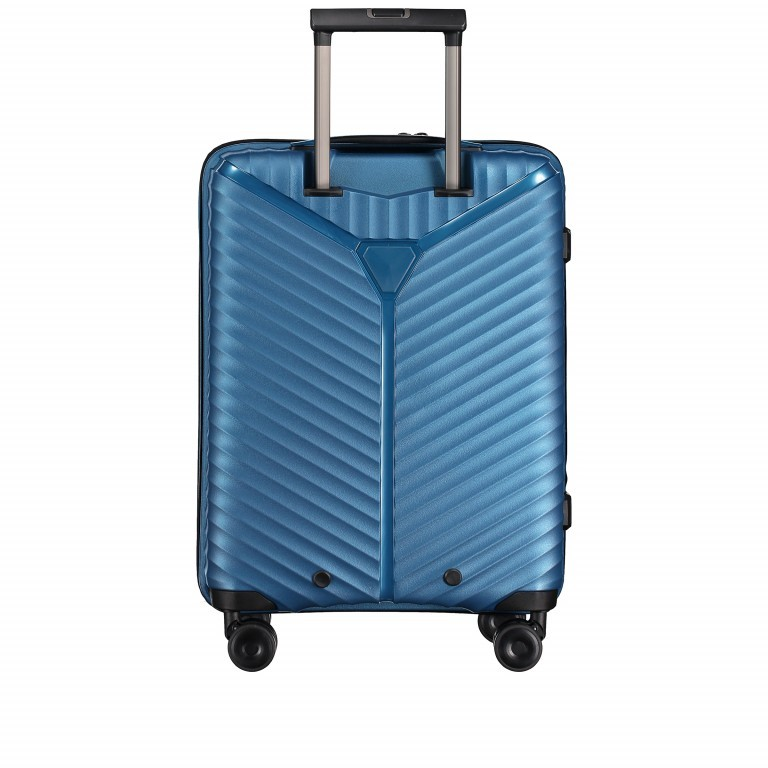 Koffer PP13 55 cm Green Metallic, Farbe: blau/petrol, Marke: Franky, EAN: 4251672746147, Abmessungen in cm: 39.0x55.0x21.0, Bild 5 von 10