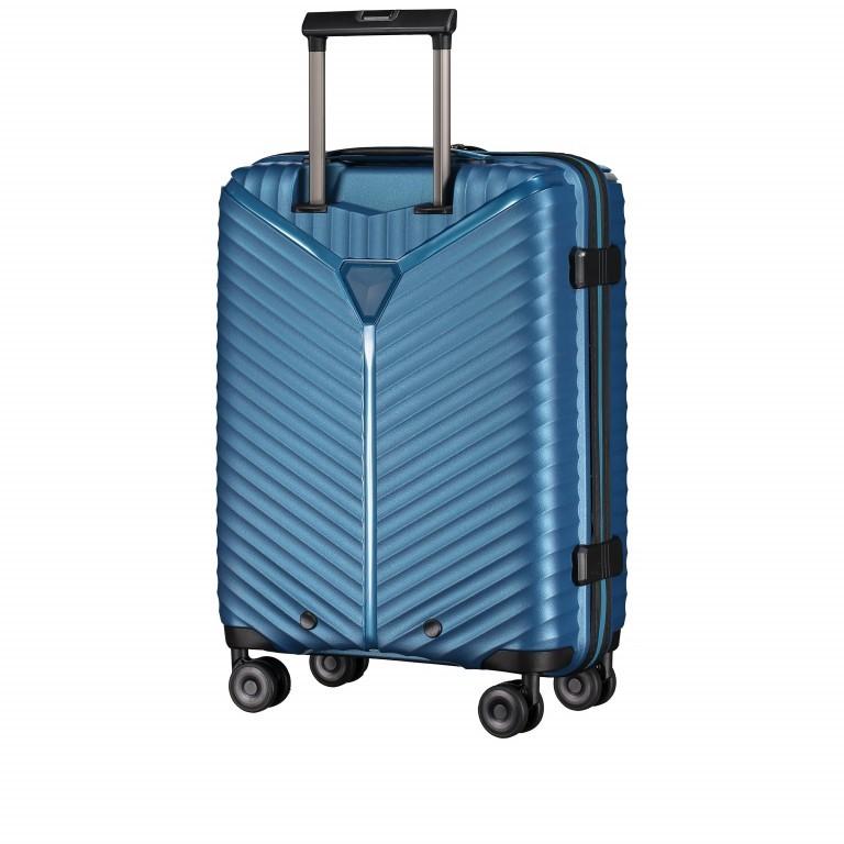 Koffer PP13 55 cm Green Metallic, Farbe: blau/petrol, Marke: Franky, EAN: 4251672746147, Abmessungen in cm: 39.0x55.0x21.0, Bild 6 von 10