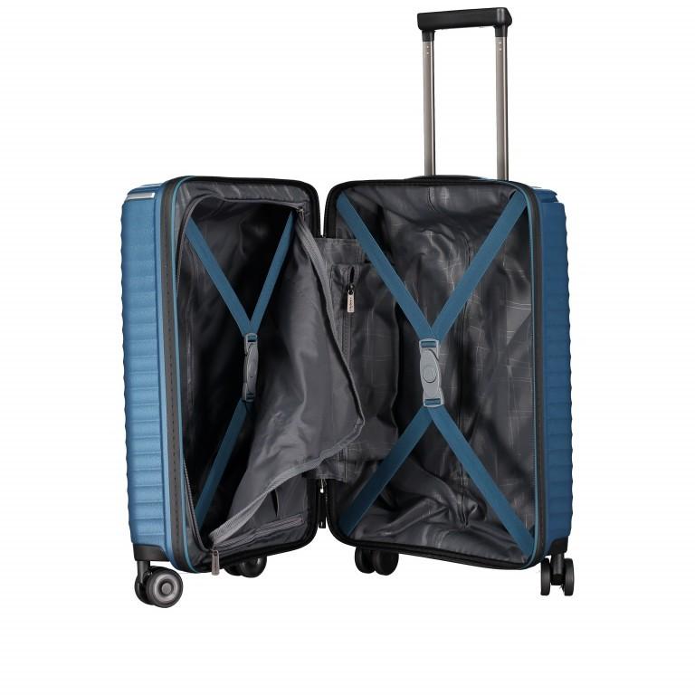 Koffer PP13 55 cm Green Metallic, Farbe: blau/petrol, Marke: Franky, EAN: 4251672746147, Abmessungen in cm: 39.0x55.0x21.0, Bild 9 von 10