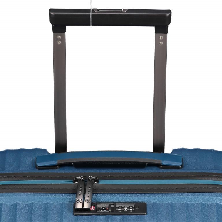 Koffer PP13 55 cm Green Metallic, Farbe: blau/petrol, Marke: Franky, EAN: 4251672746147, Abmessungen in cm: 39.0x55.0x21.0, Bild 10 von 10