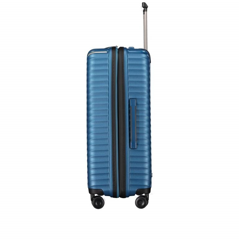 Koffer PP13 66 cm Blue Metallic, Farbe: blau/petrol, Marke: Franky, EAN: 4251672746185, Abmessungen in cm: 45.5x66.0x26.0, Bild 3 von 11