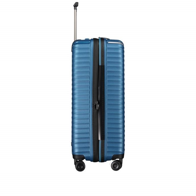 Koffer PP13 66 cm Blue Metallic, Farbe: blau/petrol, Marke: Franky, EAN: 4251672746185, Abmessungen in cm: 45.5x66.0x26.0, Bild 4 von 11