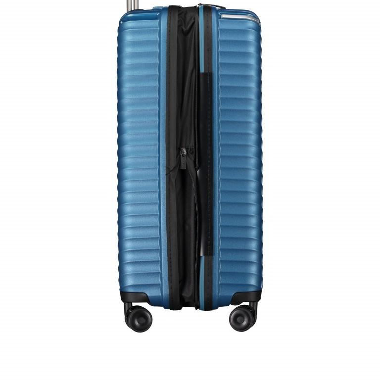 Koffer PP13 66 cm Blue Metallic, Farbe: blau/petrol, Marke: Franky, EAN: 4251672746185, Abmessungen in cm: 45.5x66.0x26.0, Bild 5 von 11
