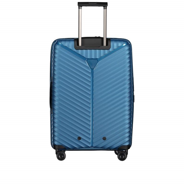 Koffer PP13 66 cm Blue Metallic, Farbe: blau/petrol, Marke: Franky, EAN: 4251672746185, Abmessungen in cm: 45.5x66.0x26.0, Bild 6 von 11