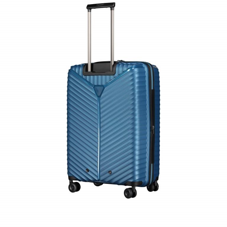 Koffer PP13 66 cm Blue Metallic, Farbe: blau/petrol, Marke: Franky, EAN: 4251672746185, Abmessungen in cm: 45.5x66.0x26.0, Bild 8 von 11
