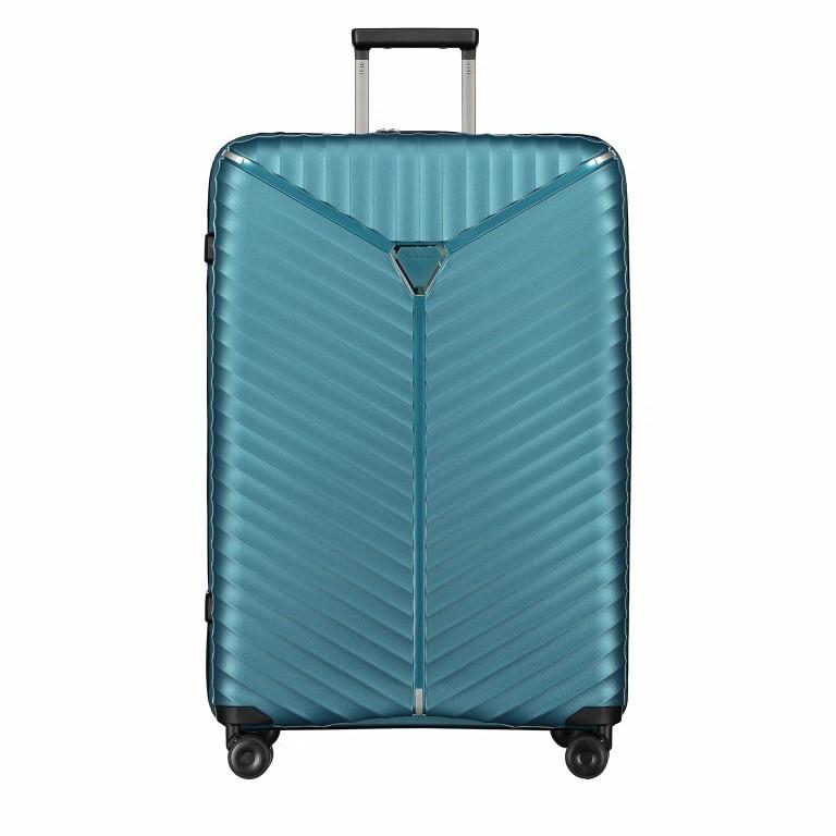 Koffer PP13 76 cm Green Metallic, Farbe: blau/petrol, Marke: Franky, EAN: 4251672746161, Abmessungen in cm: 51.0x76.0x31.0, Bild 1 von 9