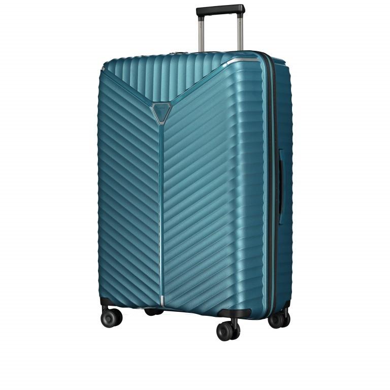 Koffer PP13 76 cm Green Metallic, Farbe: blau/petrol, Marke: Franky, EAN: 4251672746161, Abmessungen in cm: 51.0x76.0x31.0, Bild 2 von 9