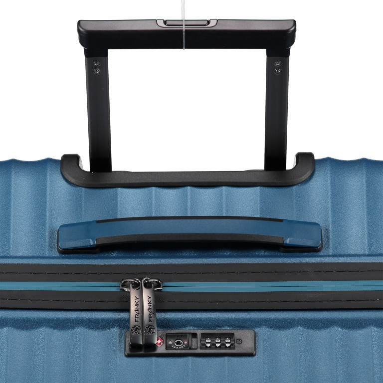 Koffer PP13 76 cm Green Metallic, Farbe: blau/petrol, Marke: Franky, EAN: 4251672746161, Abmessungen in cm: 51.0x76.0x31.0, Bild 9 von 9