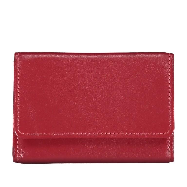 Geldbörse Alba 005 Rot, Farbe: rot/weinrot, Marke: Flanigan, EAN: 4035486094034, Abmessungen in cm: 10.0x6.0x1.0, Bild 3 von 7