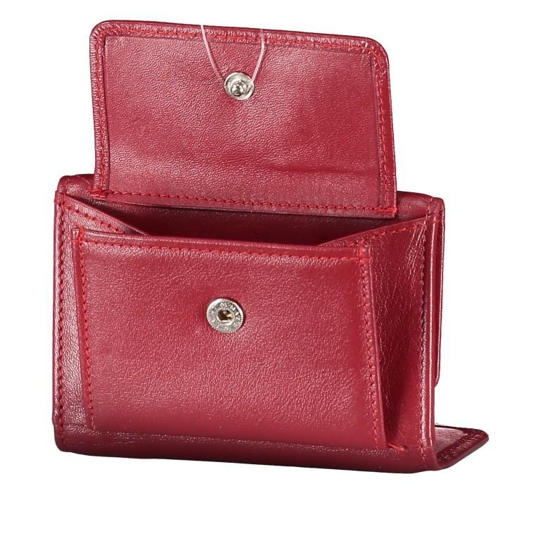 Geldbörse Alba 005 Rot, Farbe: rot/weinrot, Marke: Flanigan, EAN: 4035486094034, Abmessungen in cm: 10.0x6.0x1.0, Bild 5 von 7