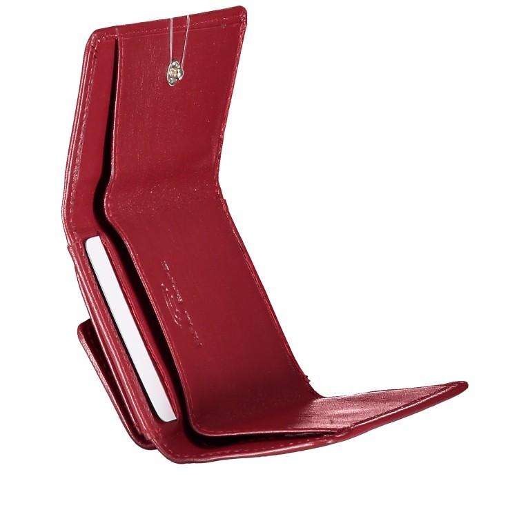 Geldbörse Alba 005 Rot, Farbe: rot/weinrot, Marke: Flanigan, EAN: 4035486094034, Abmessungen in cm: 10.0x6.0x1.0, Bild 6 von 7