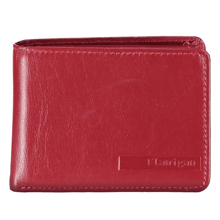 Geldbörse Alba 006 Rot, Farbe: rot/weinrot, Marke: Flanigan, EAN: 4035486094058, Abmessungen in cm: 10.0x7.5x2.0, Bild 1 von 4