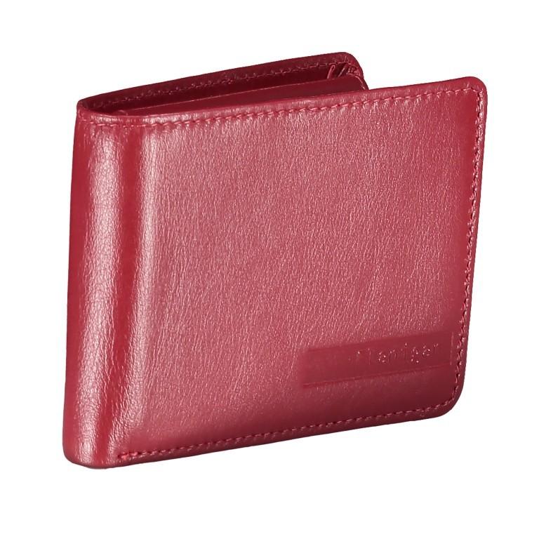 Geldbörse Alba 006 Rot, Farbe: rot/weinrot, Marke: Flanigan, EAN: 4035486094058, Abmessungen in cm: 10.0x7.5x2.0, Bild 2 von 4