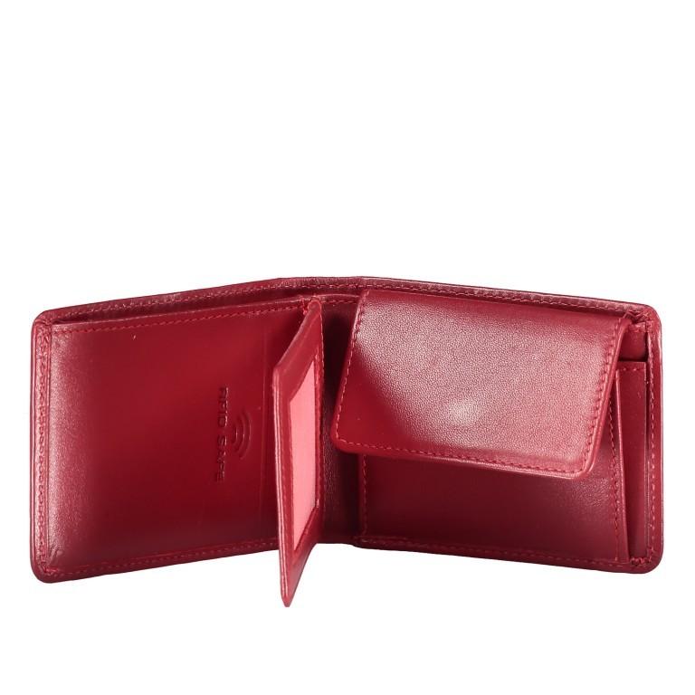 Geldbörse Alba 006 Rot, Farbe: rot/weinrot, Marke: Flanigan, EAN: 4035486094058, Abmessungen in cm: 10.0x7.5x2.0, Bild 3 von 4