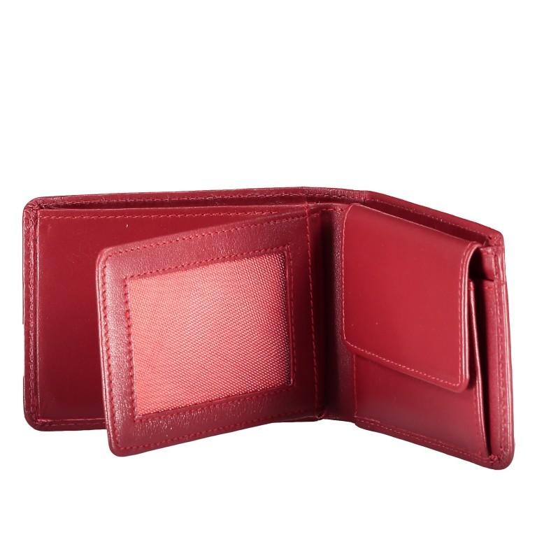 Geldbörse Alba 006 Rot, Farbe: rot/weinrot, Marke: Flanigan, EAN: 4035486094058, Abmessungen in cm: 10.0x7.5x2.0, Bild 4 von 4