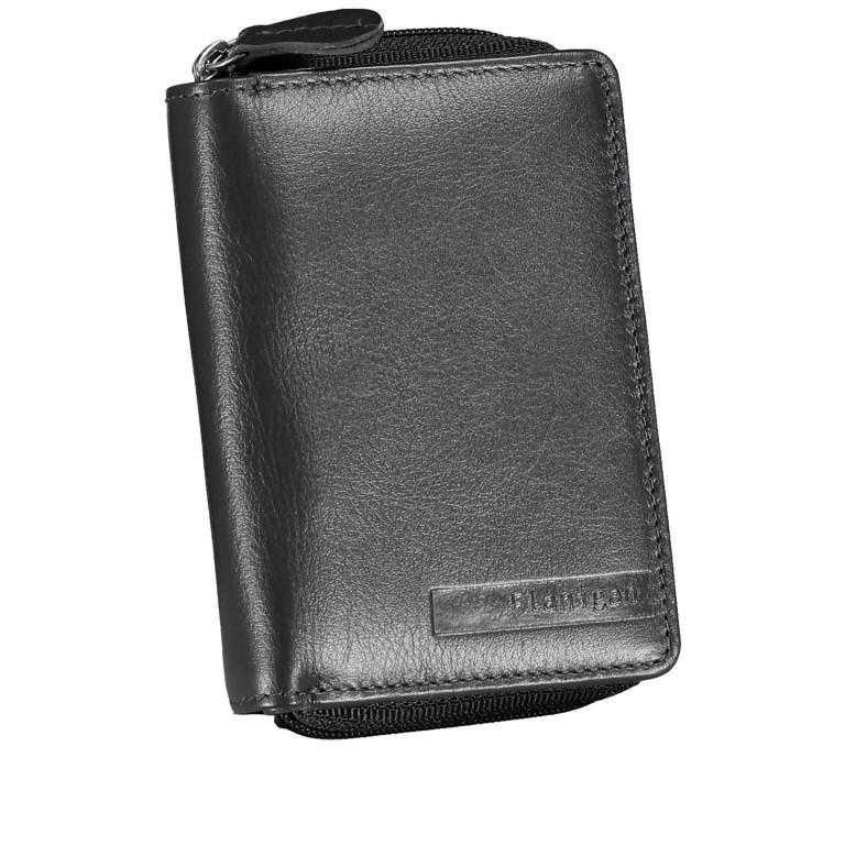 Geldbörse Alba 022 Schwarz, Farbe: schwarz, Marke: Flanigan, EAN: 4035486094249, Abmessungen in cm: 7.5x10.0x2.5, Bild 2 von 5