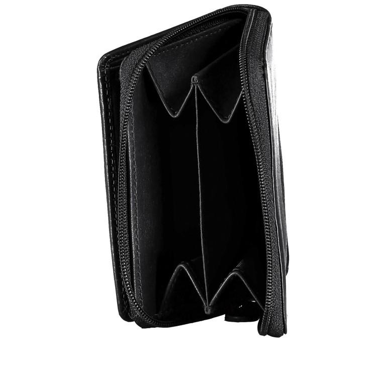 Geldbörse Alba 022 Schwarz, Farbe: schwarz, Marke: Flanigan, EAN: 4035486094249, Abmessungen in cm: 7.5x10.0x2.5, Bild 5 von 5