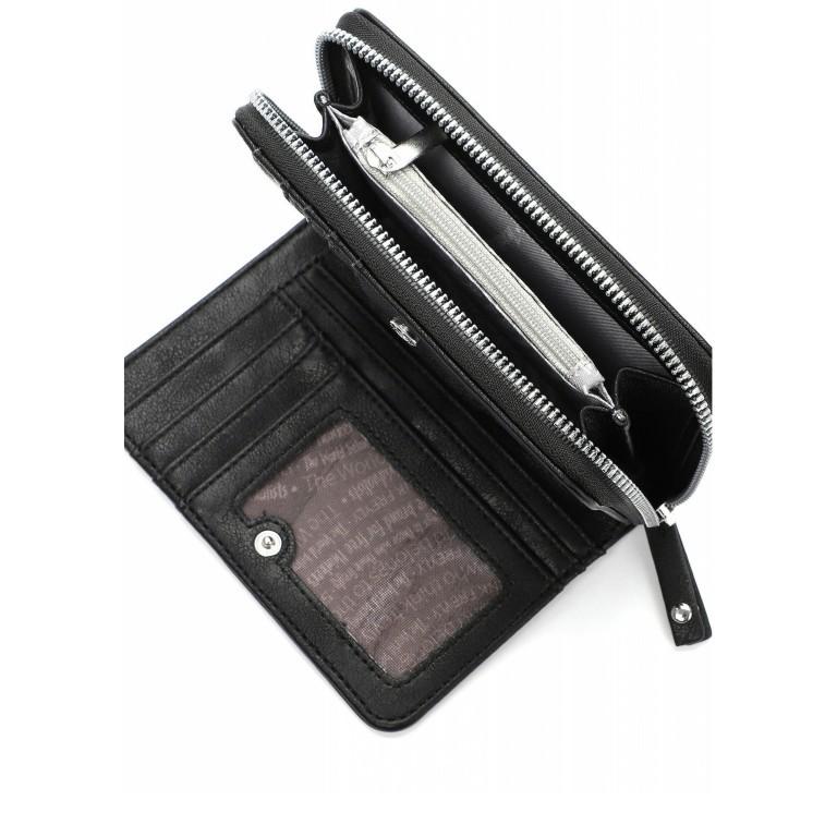 Geldbörse Luzy 12649 Black, Farbe: schwarz, Marke: Suri Frey, EAN: 4056185129735, Abmessungen in cm: 11.0x9.0x2.0, Bild 4 von 5