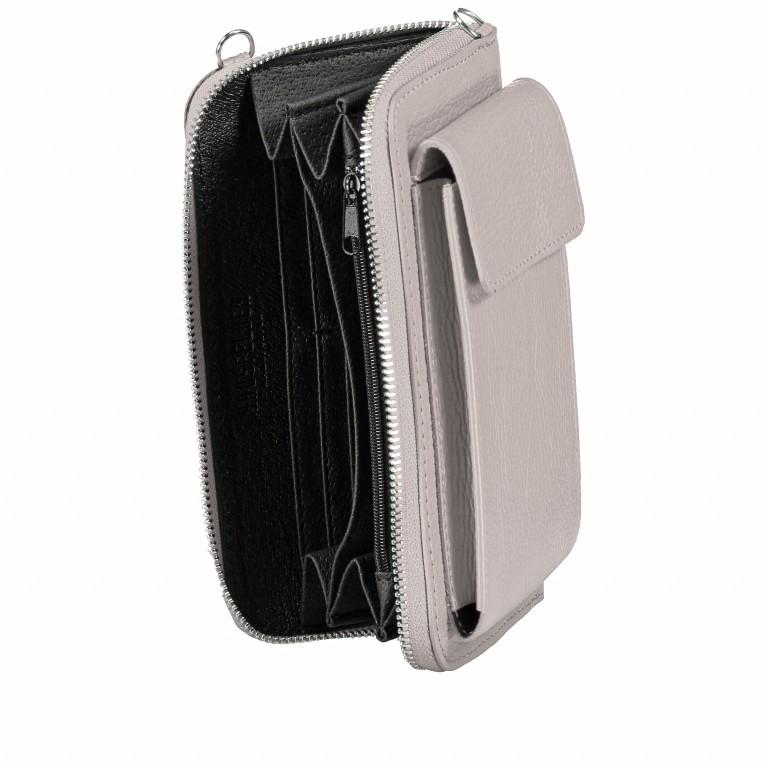 Handytasche Dollaro mit Schulterriemen Schwarz, Farbe: schwarz, Marke: Hausfelder, EAN: 4065646002043, Abmessungen in cm: 11.0x20.0x4.5, Bild 6 von 6