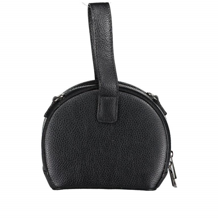 Umhängetasche Schwarz, Farbe: schwarz, Marke: Hausfelder, EAN: 4065646002234, Abmessungen in cm: 15.5x15.0x9.0, Bild 3 von 8