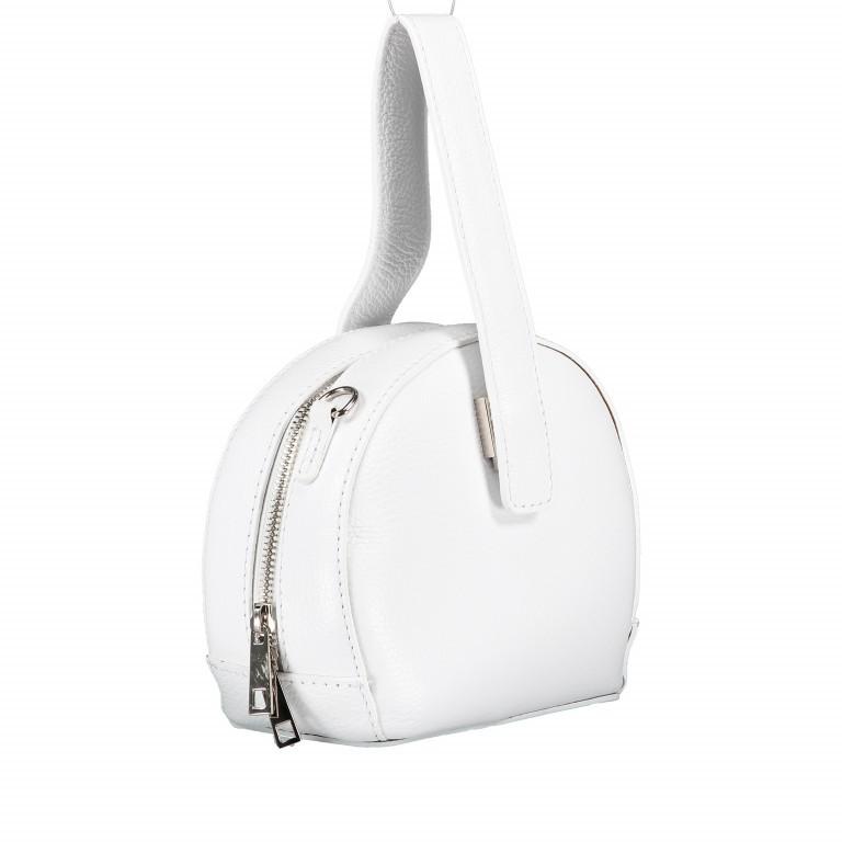 Umhängetasche Weiß, Farbe: weiß, Marke: Hausfelder, EAN: 4065646002241, Abmessungen in cm: 15.5x15.0x9.0, Bild 2 von 8