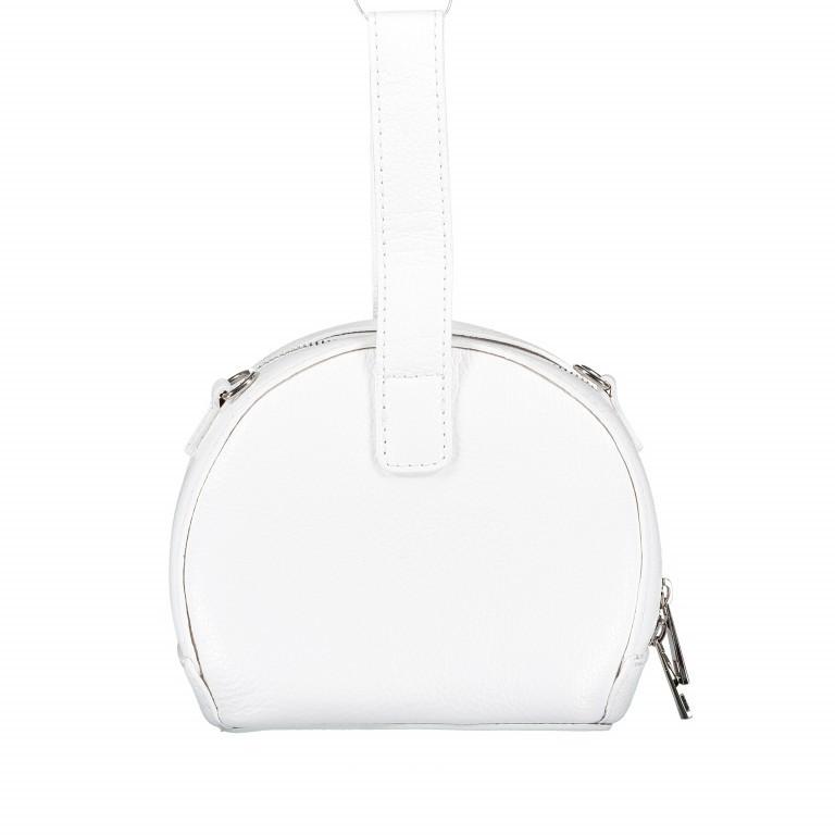 Umhängetasche Weiß, Farbe: weiß, Marke: Hausfelder, EAN: 4065646002241, Abmessungen in cm: 15.5x15.0x9.0, Bild 3 von 8