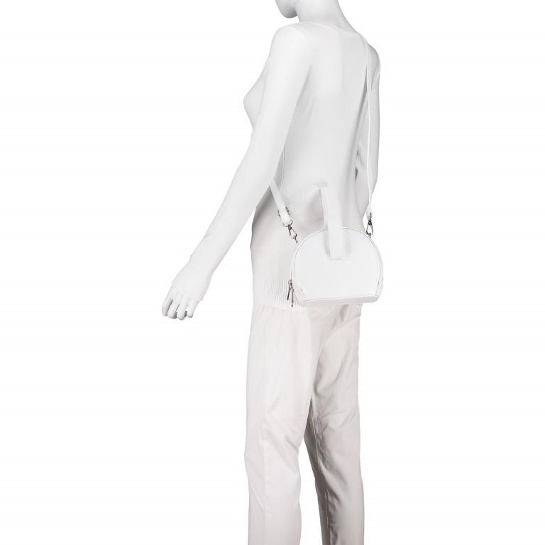 Umhängetasche Weiß, Farbe: weiß, Marke: Hausfelder, EAN: 4065646002241, Abmessungen in cm: 15.5x15.0x9.0, Bild 4 von 8