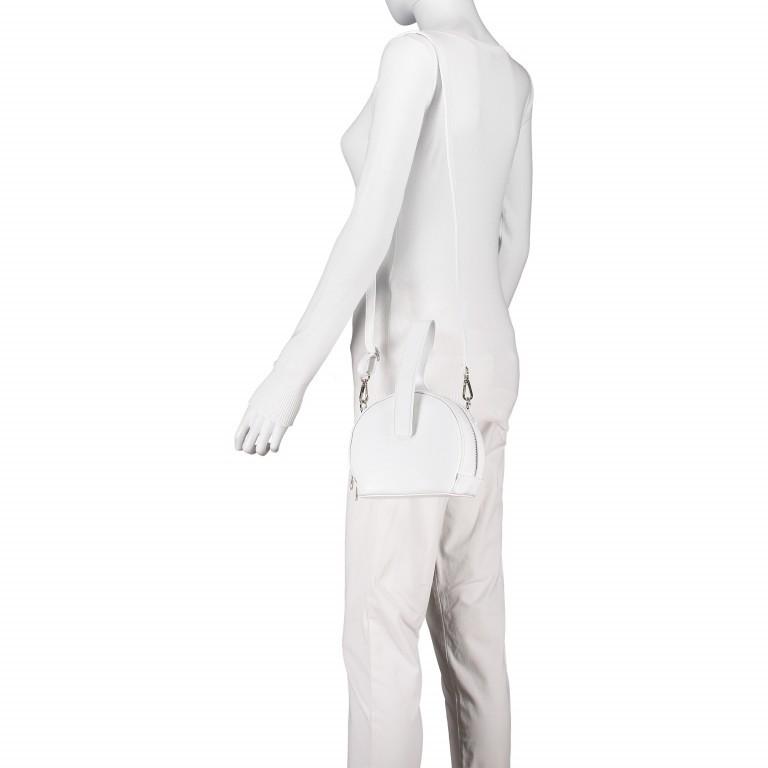 Umhängetasche Weiß, Farbe: weiß, Marke: Hausfelder, EAN: 4065646002241, Abmessungen in cm: 15.5x15.0x9.0, Bild 5 von 8