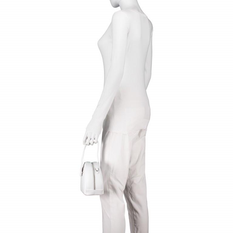 Umhängetasche Weiß, Farbe: weiß, Marke: Hausfelder, EAN: 4065646002241, Abmessungen in cm: 15.5x15.0x9.0, Bild 6 von 8