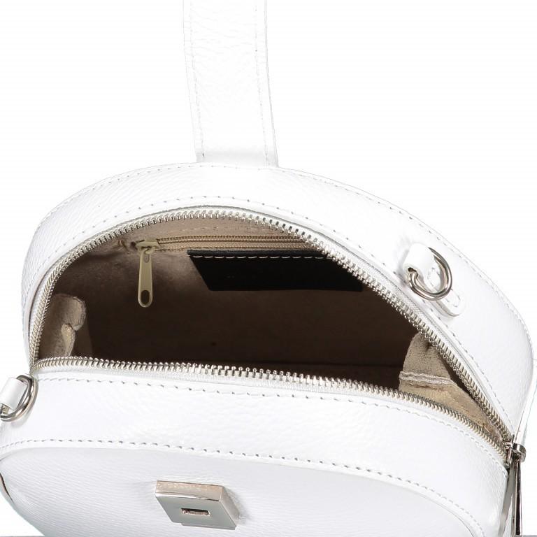 Umhängetasche Weiß, Farbe: weiß, Marke: Hausfelder, EAN: 4065646002241, Abmessungen in cm: 15.5x15.0x9.0, Bild 7 von 8