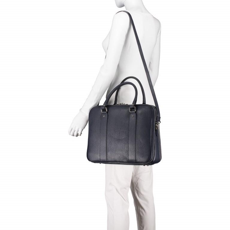 Aktentasche für Damen Schwarz, Farbe: schwarz, Marke: Hausfelder, EAN: 4065646001626, Abmessungen in cm: 36.0x28.0x13.0, Bild 4 von 11