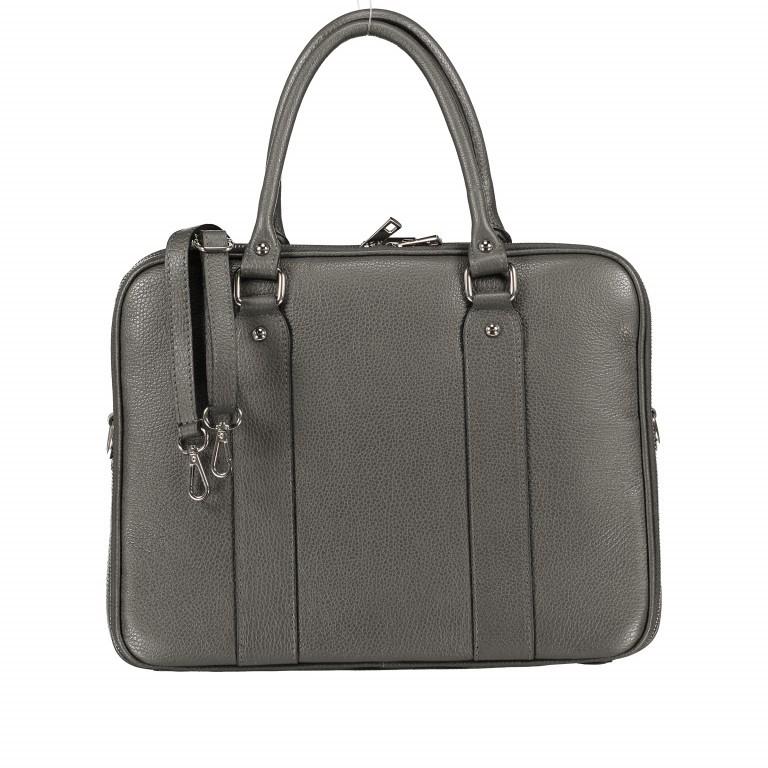 Aktentasche für Damen Dunkelgrau, Farbe: grau, Marke: Hausfelder, EAN: 4065646001602, Abmessungen in cm: 36.0x28.0x13.0, Bild 1 von 11