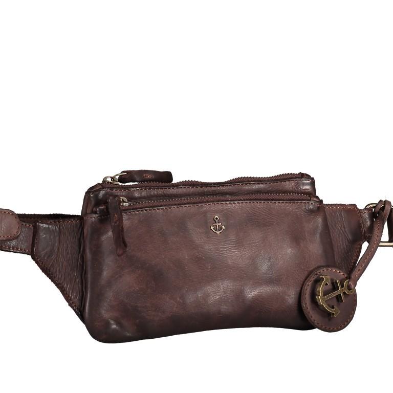Gürteltasche Cool-Casual Linus B3.0025 Chocolate Brown, Farbe: braun, Marke: Harbour 2nd, EAN: 4046478045521, Abmessungen in cm: 22.0x13.5x2.0, Bild 2 von 6