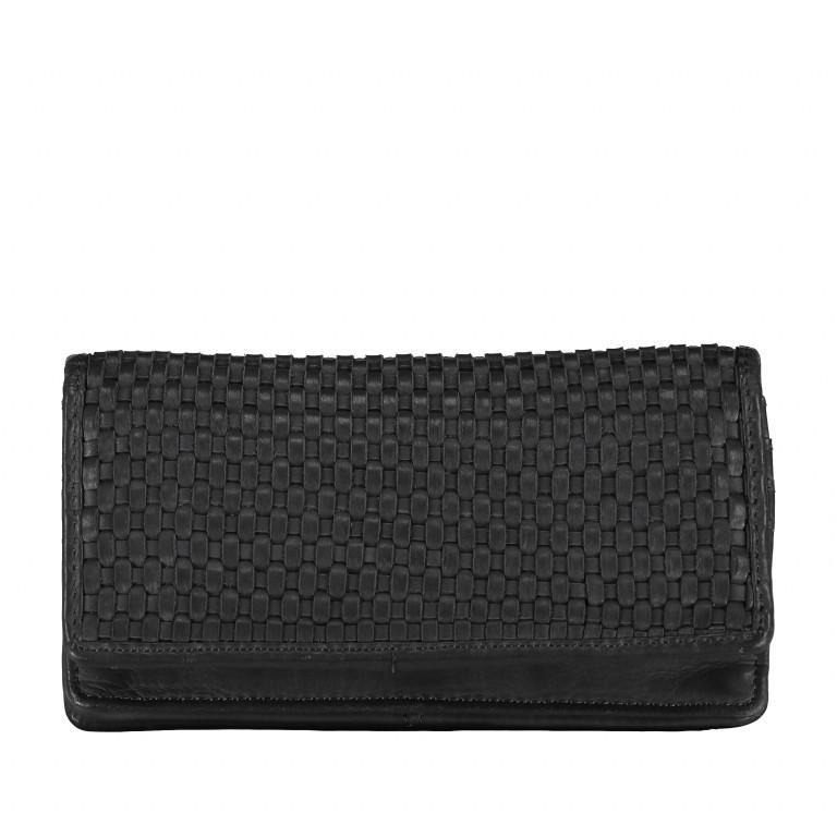Geldbörse Soft-Weaving Shelly B3.2224 Dark Ash, Farbe: anthrazit, Marke: Harbour 2nd, EAN: 4046478044753, Abmessungen in cm: 18.5x10.0x3.0, Bild 1 von 4