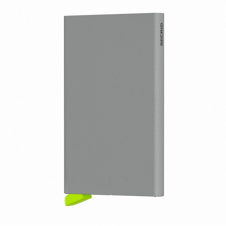 Kartenetui Cardprotector Powder Concrete, Farbe: grau, Marke: Secrid, EAN: 8718215287810, Abmessungen in cm: 6.3x10.2x0.8, Bild 1 von 3