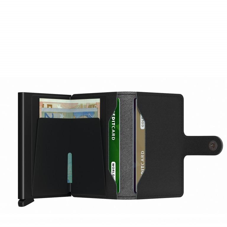 Geldbörse Miniwallet Yard vegan Black, Farbe: schwarz, Marke: Secrid, EAN: 8718215287933, Abmessungen in cm: 6.5x10.2x2.1, Bild 3 von 5