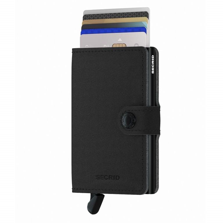 Geldbörse Miniwallet Yard vegan Black, Farbe: schwarz, Marke: Secrid, EAN: 8718215287933, Abmessungen in cm: 6.5x10.2x2.1, Bild 5 von 5