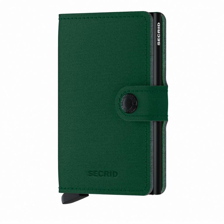 Geldbörse Miniwallet Yard vegan Green, Farbe: grün/oliv, Marke: Secrid, EAN: 8718215287902, Abmessungen in cm: 6.5x10.2x2.1, Bild 1 von 5